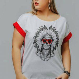 Camiseta talla grande Indio para mujer