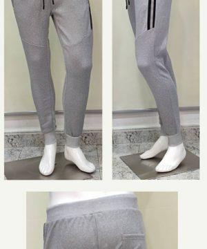 Pantalón chándal gris claro para hombre