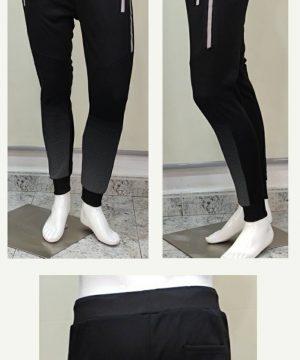 Pantalón chándal negro para hombre