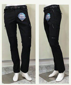 Pantalón montaña negro 6 bolsillos para hombre