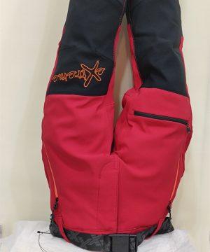 Pantalón montaña rojo para niño