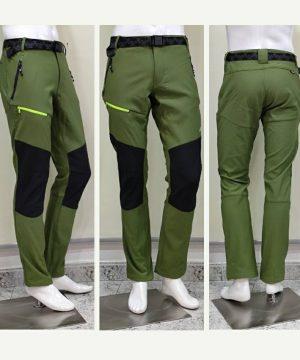 Pantalón trekking verde cactus hombre