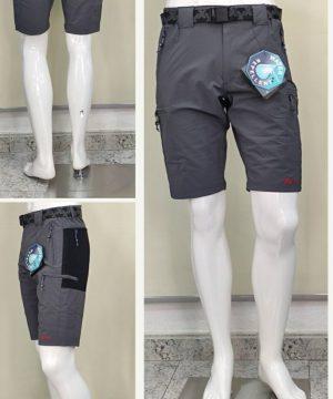 Pantalón trekking corto 6 bolsillos hombre