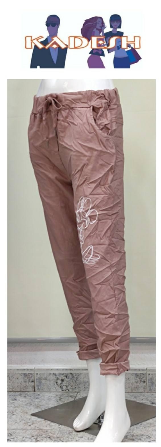 pantalón rosa arrugado Minnie